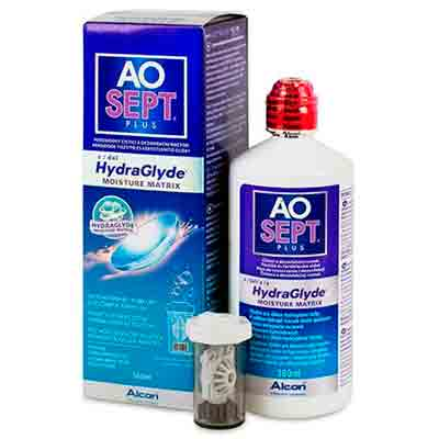 Aosept Plus HydraGlyde