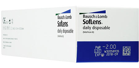 Soflens daily disposable